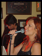 Pat and Janine performing at Cork's Cigar Bar, Valentine's Day 2009