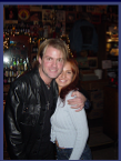 Janine w/ Andy Griggs at Legends in Nashville. (Dec. 2004)